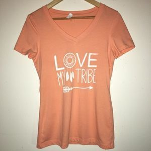 """NWOT Next Level Apparel """"Love My Tribe"""""""